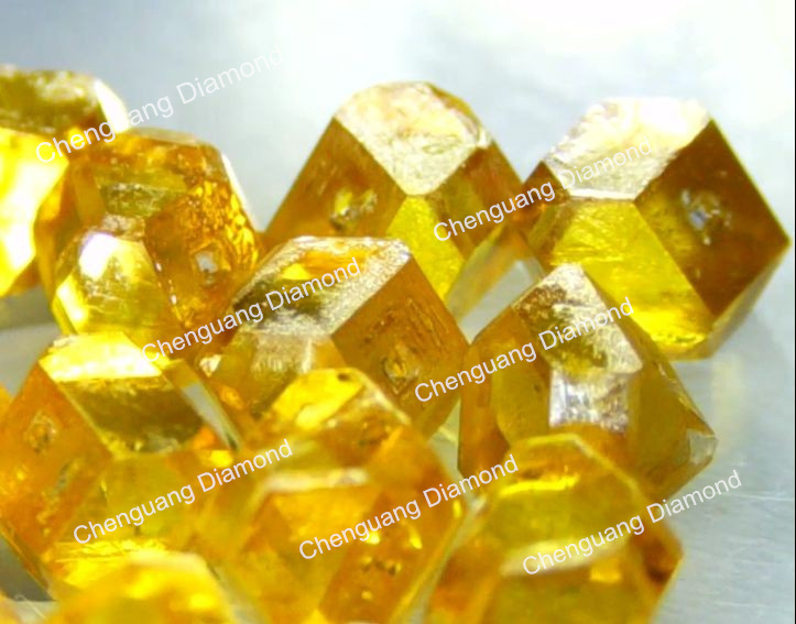 Light Yellow Synthetic Diamond
