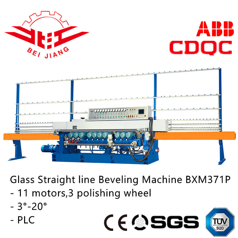 Glass/Mirror Bevelling Edging Machine (BXM371P)