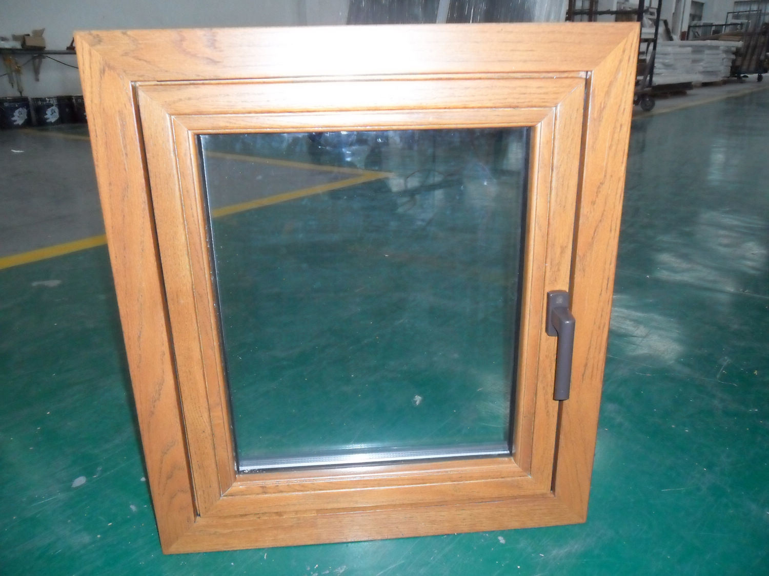 1125 #AD621E China Wood Clad Aluminium Window (TS 302) Photos & Pictures Made In  pic Clad Wood Doors 47211500