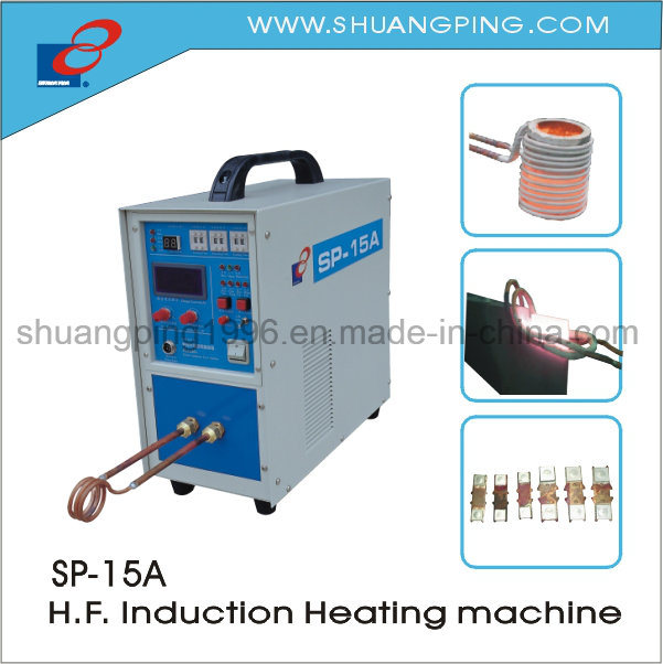 High Frequency Induction Heating Machine Sp-15A with Timer