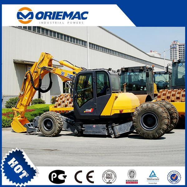 XCMG 8 Ton Excavator Xe80 Mini Crawler E...