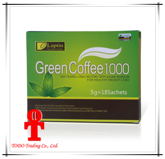 Health Food Leptin Green Slimming Coffee 800 Weight Loss