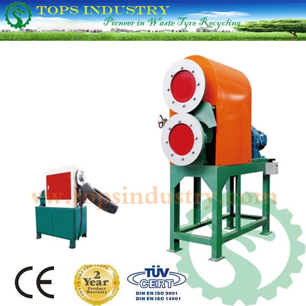 High Efficiency Waste Tire Slitter / Waste Tire Slitting Machine / Tire Rim Cutter / Tire Strip Cutting Machine / Tire Strip Cutter