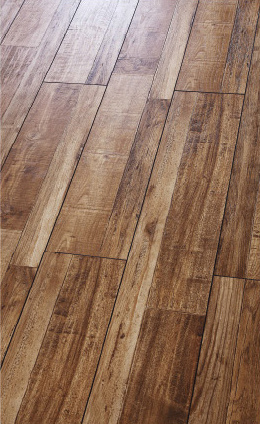 Customizable Household / Commercial 8.3mm E0 E1 HDF AC3/AC4 Art Parquet Composite Laminated Flooring