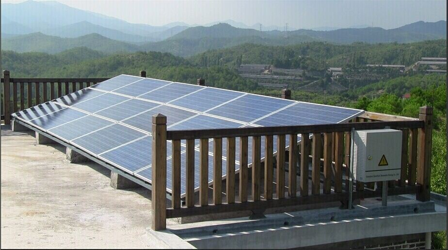China Sun Tracking Solar System for Home Use 10kw 15kw