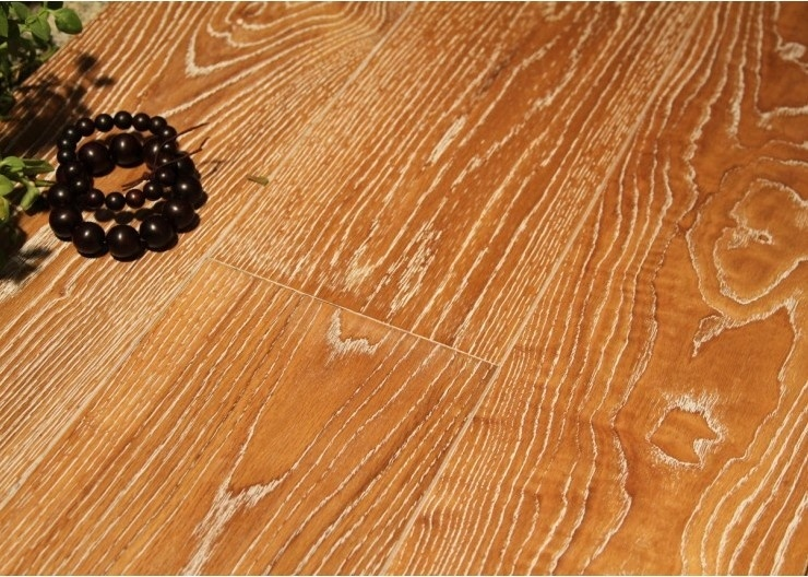 Natural Oiled Oak Engineered Wood Parquet / Hardwood Flooring