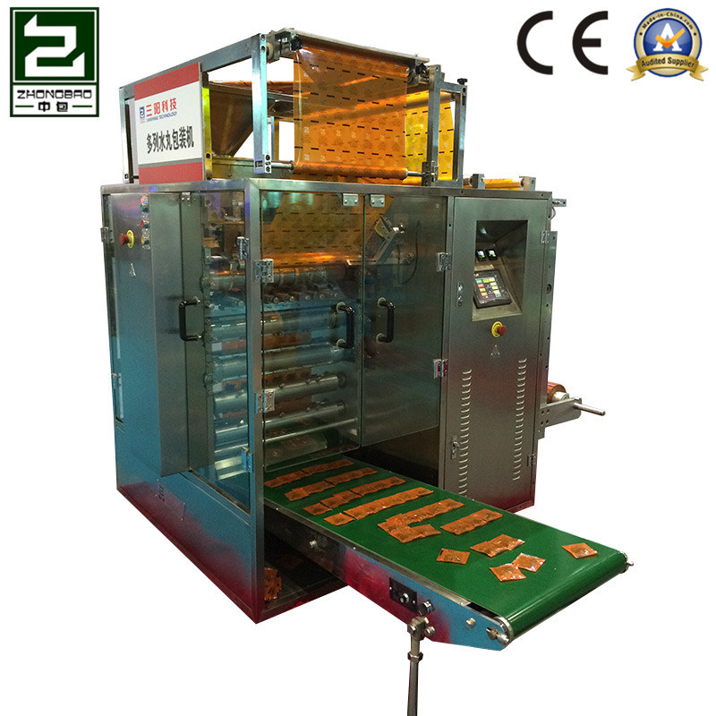 Sugar Granule Four-Side Sealing and Multi-Line Packing Machine