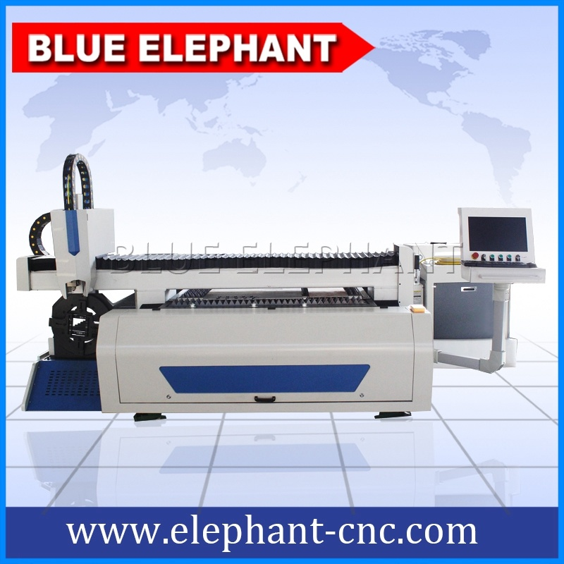 1200W Big Power Metal Sheet CNC Laser Cutter, Fiber Laser Cutting Machine for Aluminum, Steel, Metal Plate