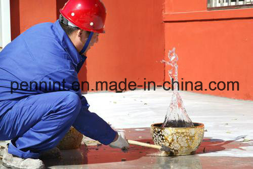 Hot Sale Solvent Base Red Single-Component PU Waterproof Coating
