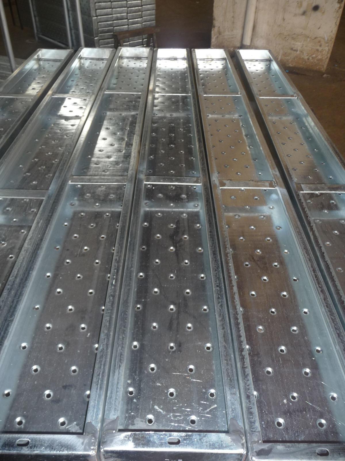 Steel Scaffold Planks : Pre galvanized scaffolding steel plank without hook photos
