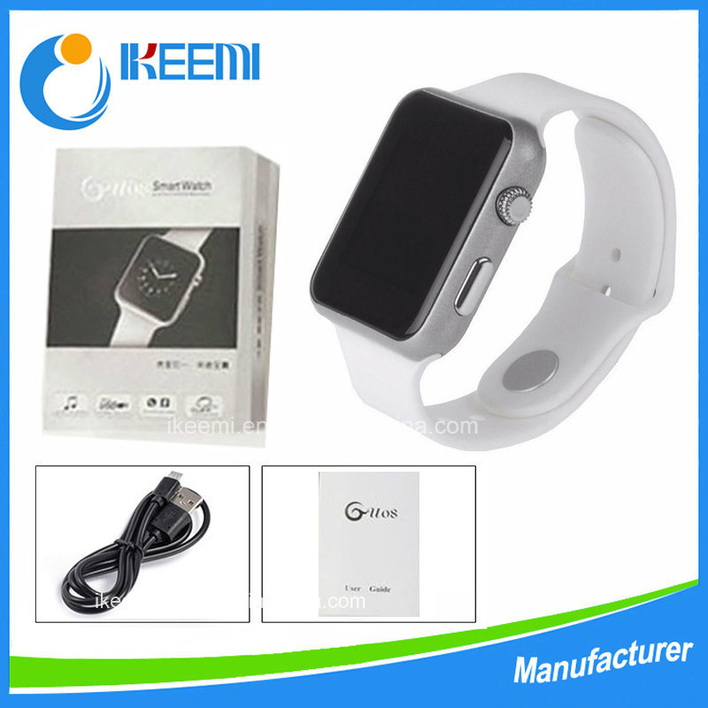 2016 Hot-Sale Gu08 Bluetooth Smart Watch Mobile Phone for Android Ios