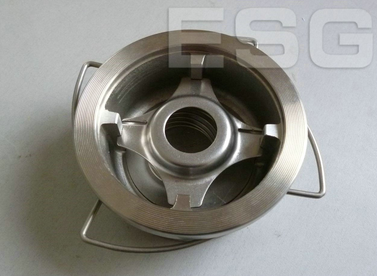 Esg 500 Wafer Type Disk Check Stainless Steel Control Valve