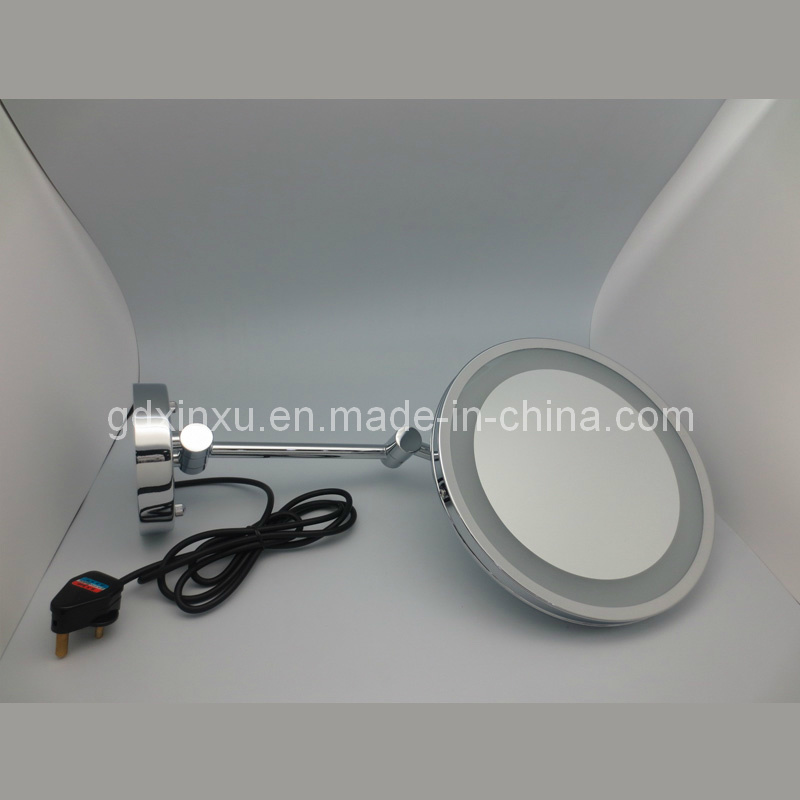 9 Inch Lighted Bathroom Mirror Wall Mount (D901)