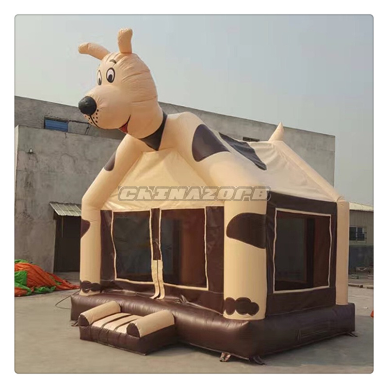 2016 New Made Vivid Dog Theme Inflatable Jumping House Bouncer