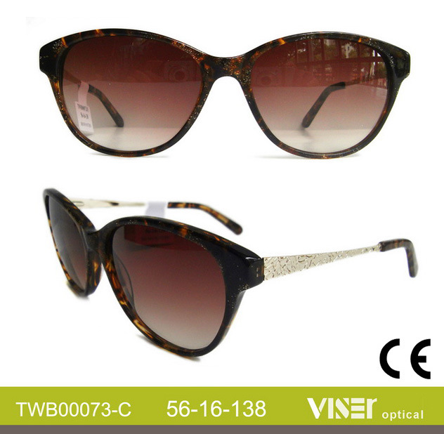 Wholesale Handmade Acetate Fashion Sunglasses (73-B)