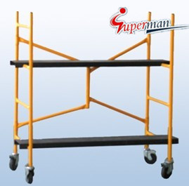 4 Ft Steel Mini Foldable Scaffold Set (SM-SS10)