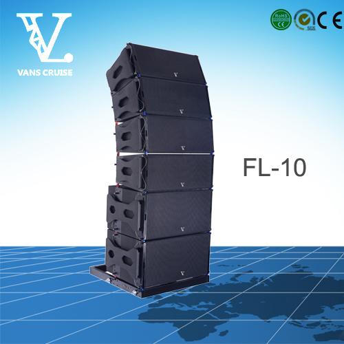 FL-10 2-Way Big Power Outdoor Line Array Sound Speaker