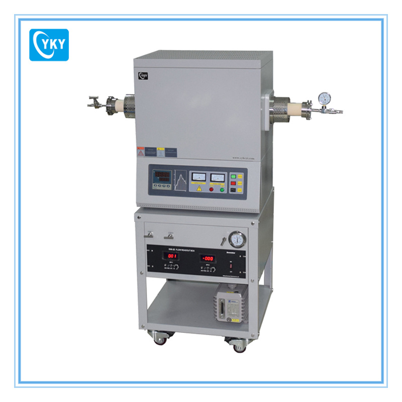 1600c CVD Tube Furnace System for Deposition of Carbon and Metal Oxidize