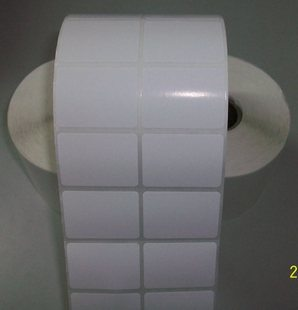 Self Adhesive Semi-Gloss Coated Paper / White Glassine Liner