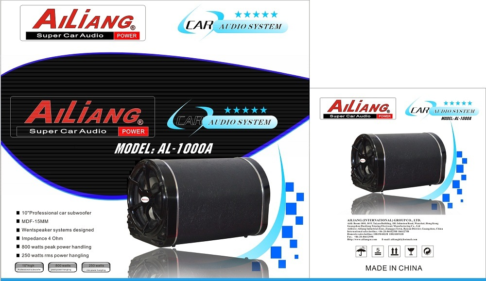 Car Audio Car Speaker Subwoofer