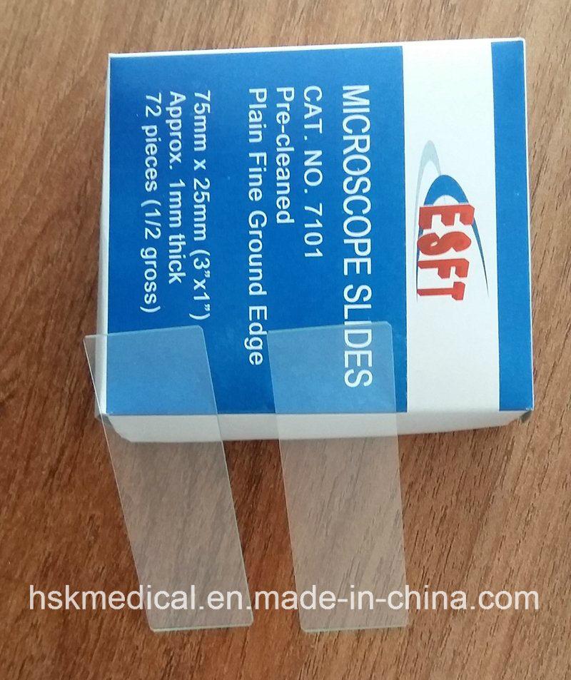 Super Clear Microscope Slides 7101-72PCS