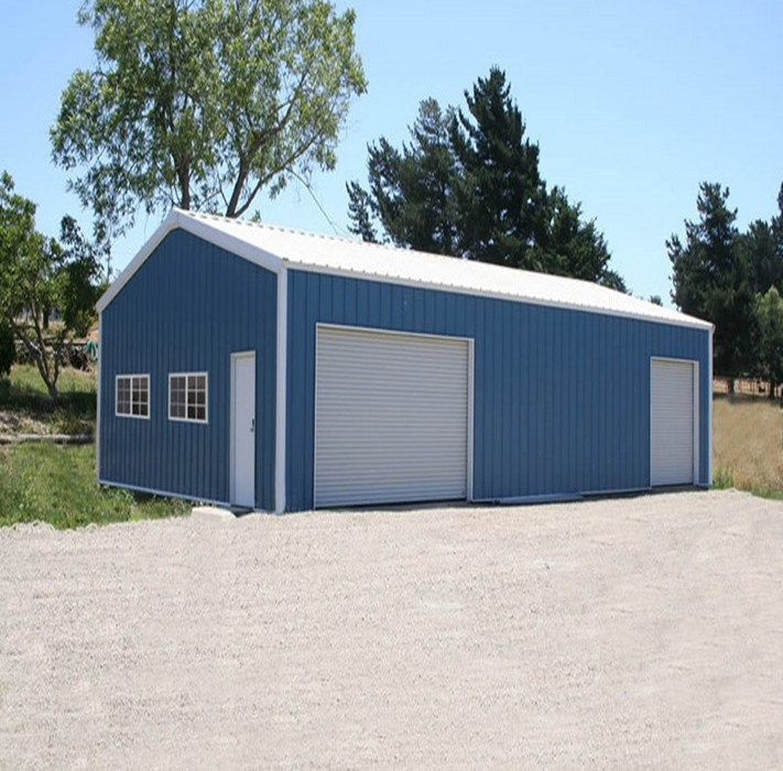 China prefab steel structure small warehouse garage photos for Petit garage prefabrique
