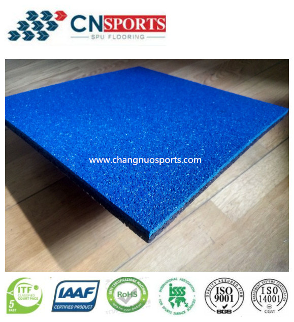 Noise Reduction Comfortable Indoor Outdoor EPDM Granule for Flooring