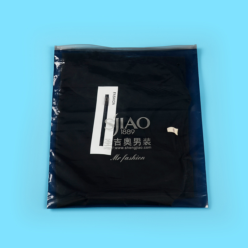 Branded High Quality Ziplock Plastic Bags for Garments (FLZ-9222)