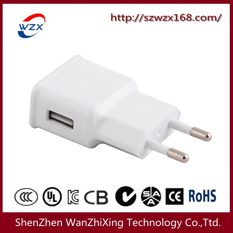 5W Mobilephone Charger with CE, FCC Certification (WZX-090)