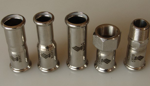 Stainless Steel Press fitting Joints