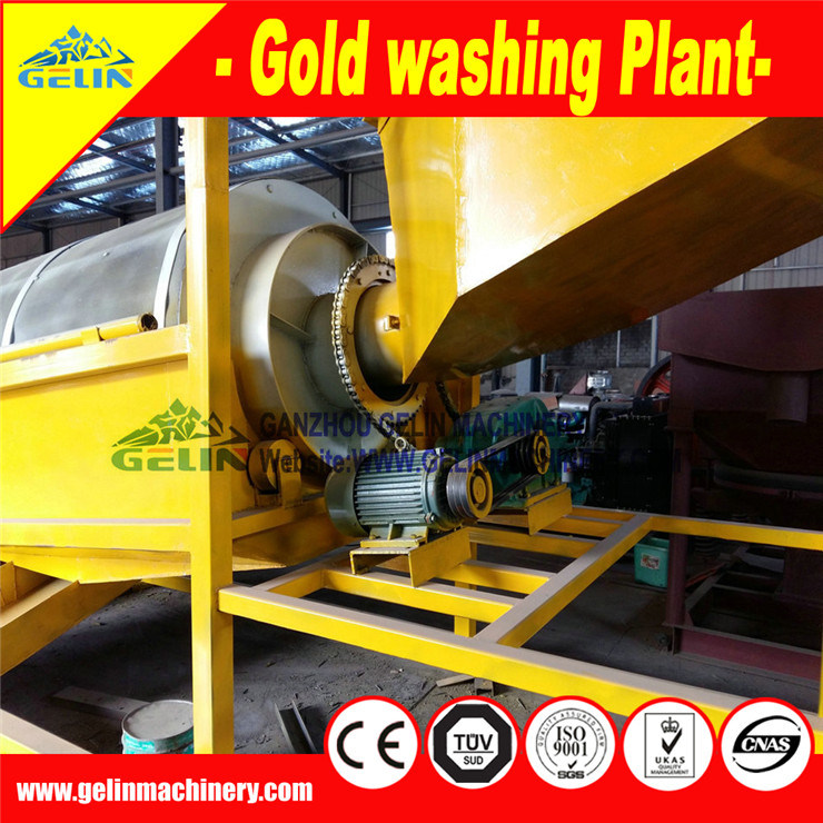 Clay Mine Washing Plant, Clay Gold Ore Wash Machine for Ghana Market