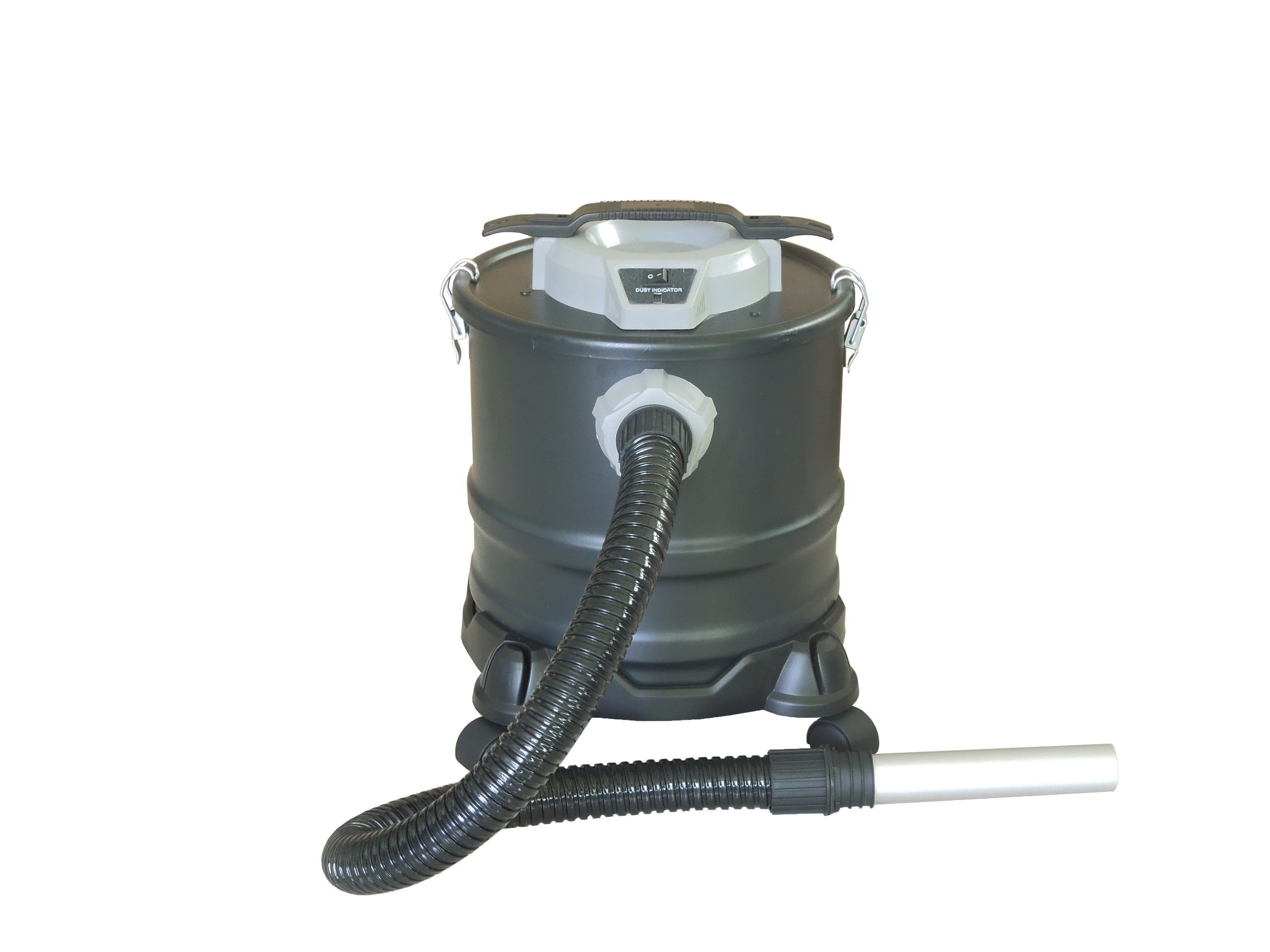 302-25L Electric Dry Dust Fireplace Ash BBQ Ash Vacuum Cleaner with with Filling Indicator with or Without Wheelbase
