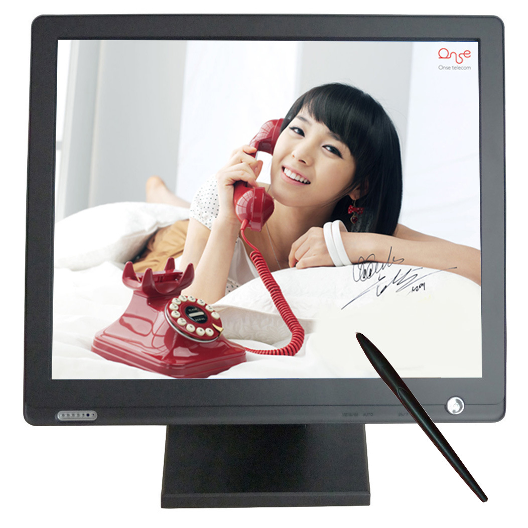 17′′ USB LCD Touch Screen Monitor