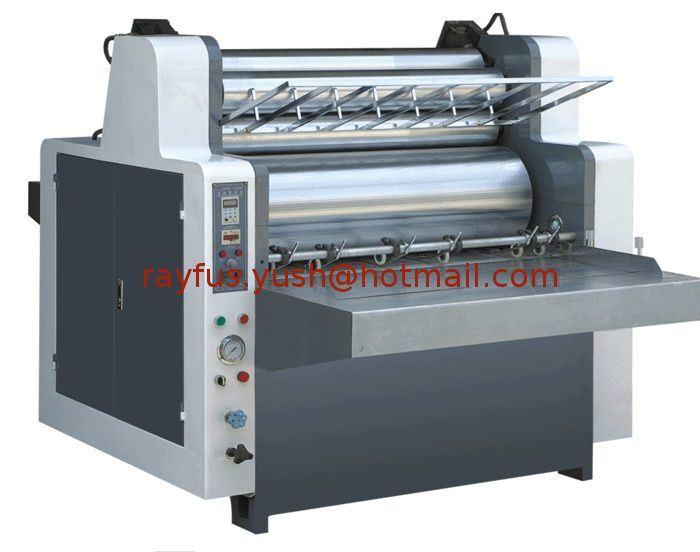 Semi Automatic Flute Laminator for Corrugated Cardboard Sheet
