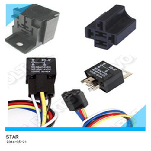 Waterproof Automotive 12V 30A Relay of Car Light