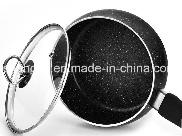 Alloy Aluminium Coated Non-Stick Soup Milk Pot Cookware Sets Sx-A025