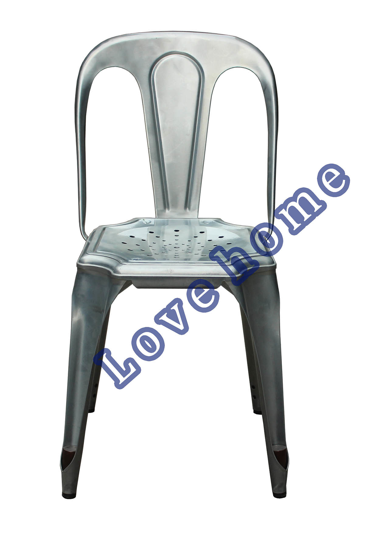 Industrial Tolix Vintage Armand Restaurant Metal Chair