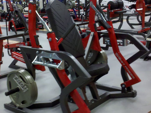 Good Qaulity Rogers Athletic Gym Equipment / Chest Press (F1-3072)