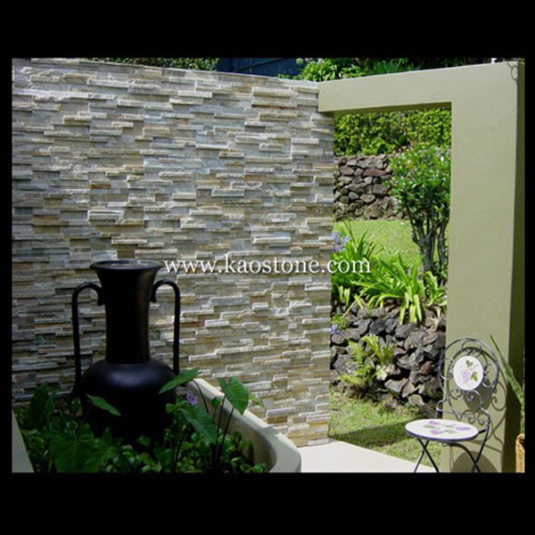 Natural Culture Slate Cultured Stone for Wall Cladding Decoration