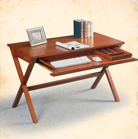 Solid Wood Computer Desk Wooden Study Table (M-X1044)