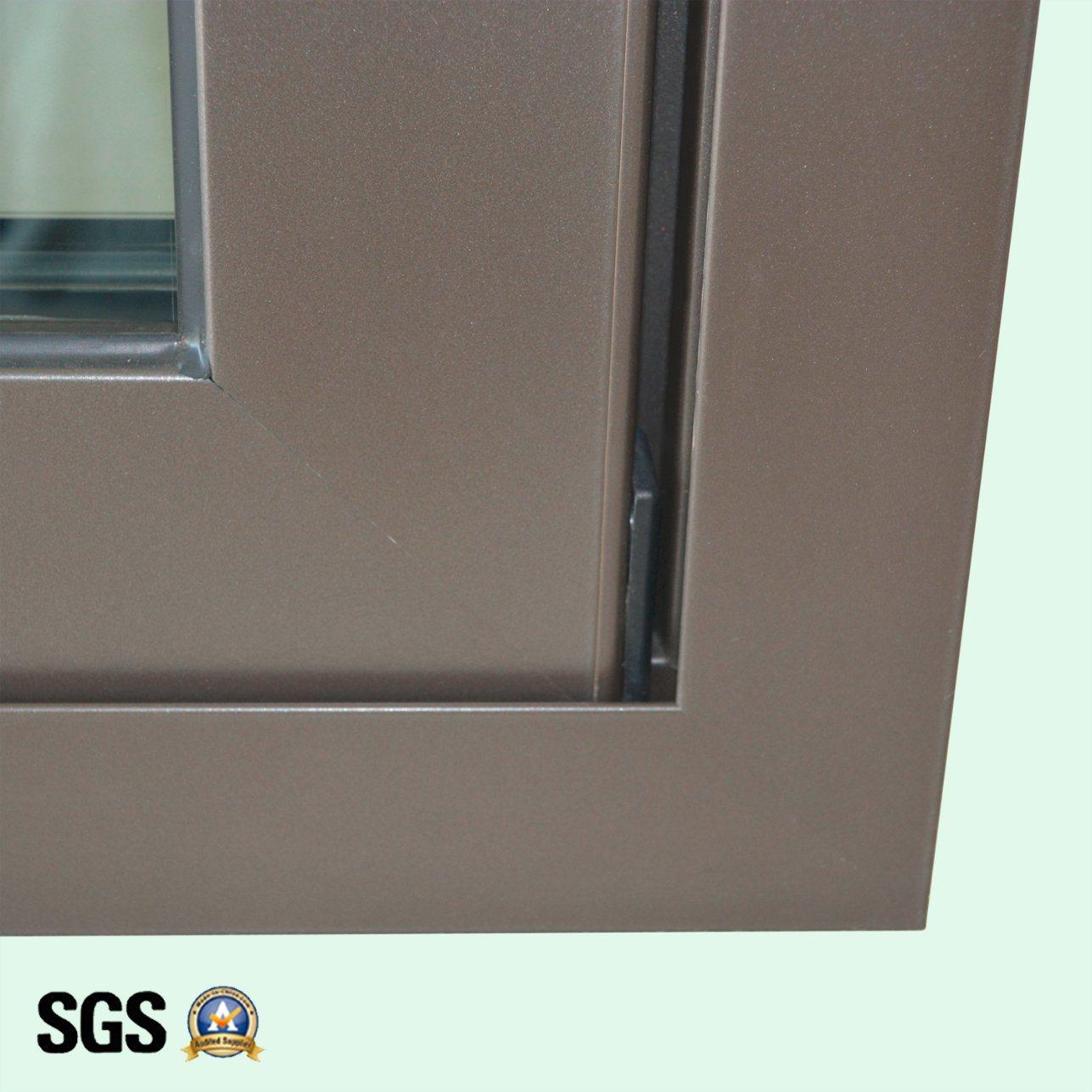 High Quality Double Glass Aluminum Sliding Window K01080