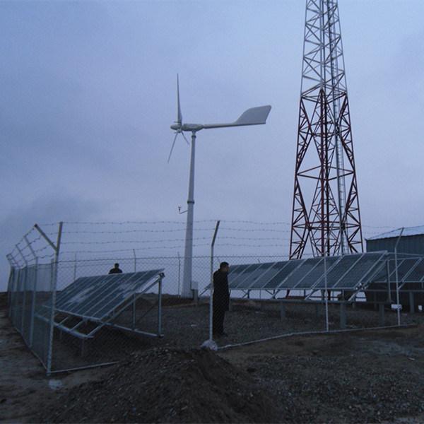 Ane Wind Turbine Solar Generator for Mobile Communication Station Power Supply Solution Plan