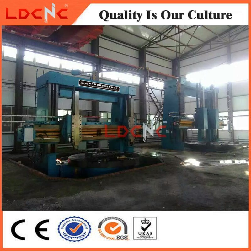 Double Column Vertical Manual Lathe for Tire Mold