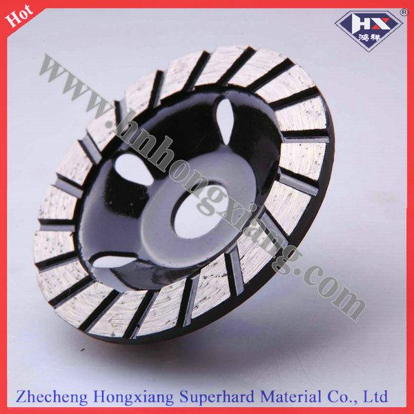 Single Row Diamond Cup Grinding Wheel for Hard Stone