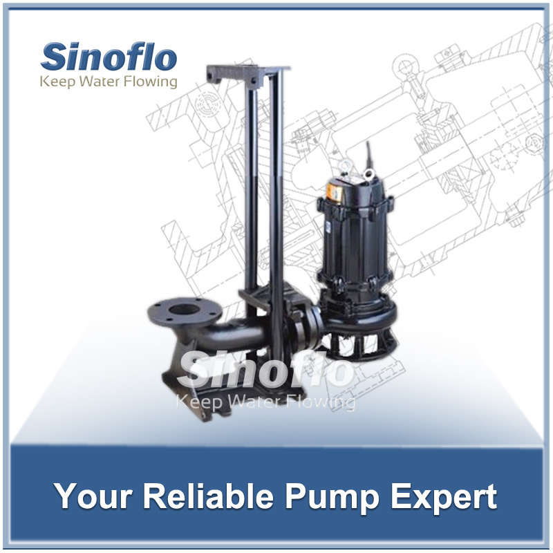 Auto-Coupling Sewage Submersible Dewatering Pump