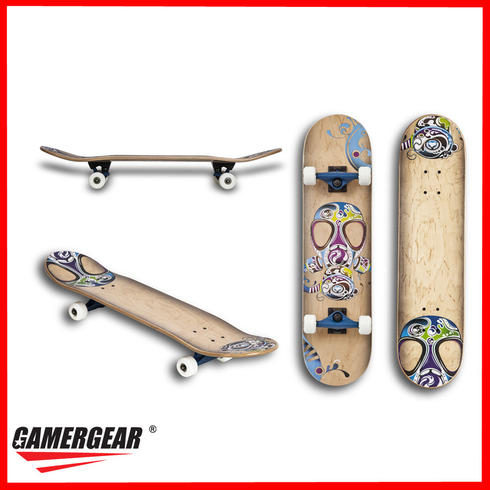 Class a Full Canadian Maple Skateboard (SKB-08)