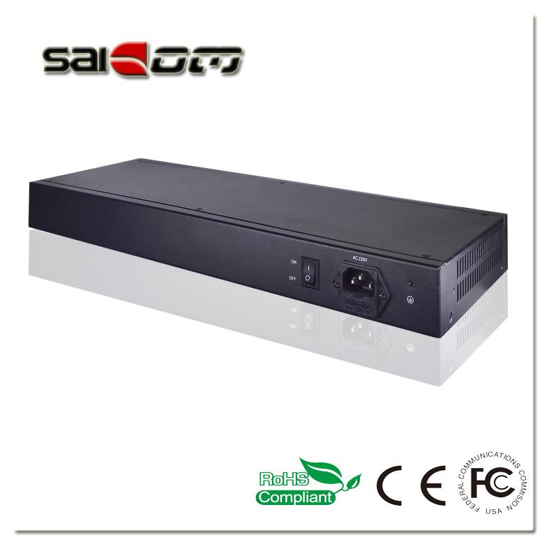 Saicom(SCHG2-21612) Multi-optical 12+16ports Gig SFP slots Unmanaged Ethernet Switch