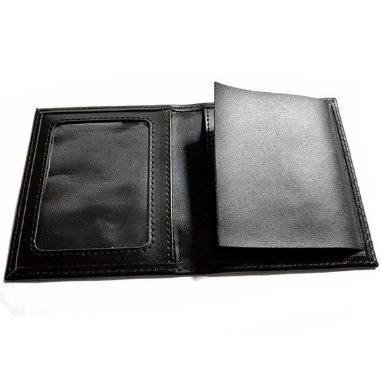 Genuine Leather Badge Wallet