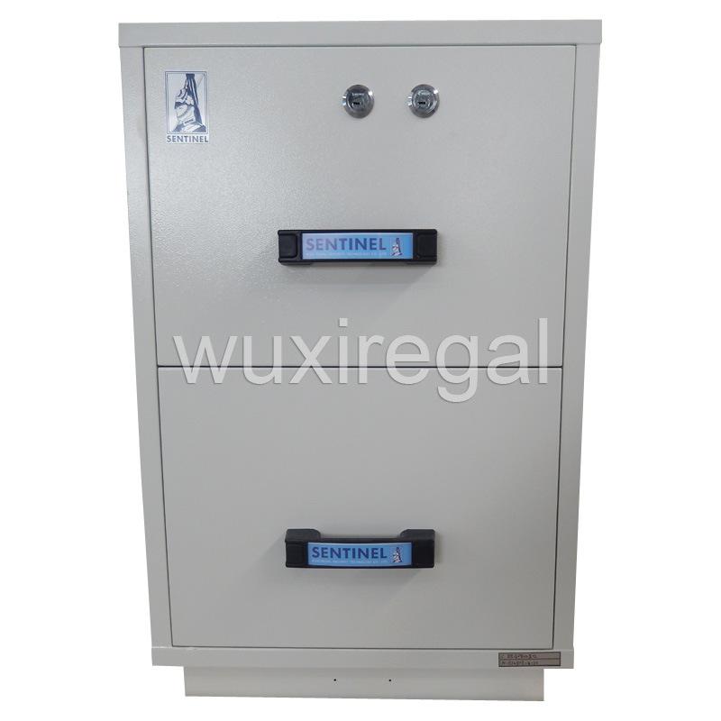 Fireproof File Metal Cabinet, UL 2 Hours Filing Cabinet (UL824FRD-II-2002)