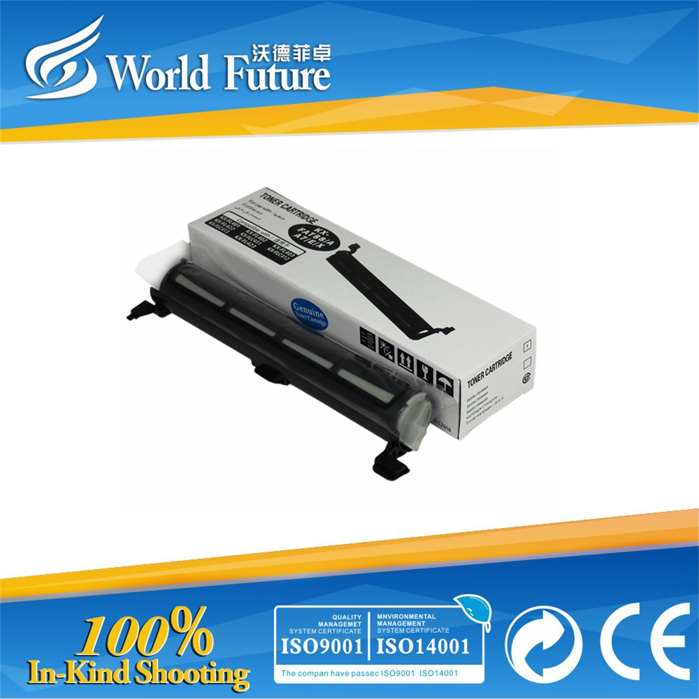 Laser Printer Toner Cartridge Kx-Fat88A/E/A7/X) (Toner) for Use in Kx-FL401/402/403/313cn/315cn/318cn/; Kx-Flc411/412/413c
